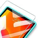 ESR [1枚入り]iPad 10.2 フィルム 2020/2019 iPad 7 ガラスフィルム iPad Air 3/iPad Pro 10.5通用 液晶保護 [簡単貼り付けフレーム][耐スクラッチ][硬度9H] HD透明度透明度プレミアム強化ガラス液晶保護フィルム 1枚入り