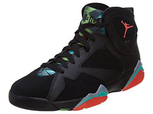 Nike Herren Air Jordan 7 Retro 30Th Hallenschuhe, Schwarz Rot Blau Schwarz Infrarot 23 Bl Grpht RTR, 40 EU
