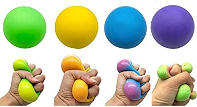 DNA Squish Stress Balls | Color Changing Stress Squishy Balls,Focus Enhance,Soft Stress Toys for Kids Pull/Stretch. Stress Balls for Adults Anxiety Hand Therapy or Sensory Fidget Relaxing Toy (1pcs) de DIIIBARLORY
