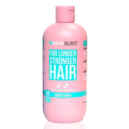 Hairburst Hair Growth Conditioner For Woman - Reduces Hair Loss - Strengthens Existing Hair Growth - Contains No SLS and Parabens - Coconut and Avocado Aroma - New Bigger Bottles 350ml