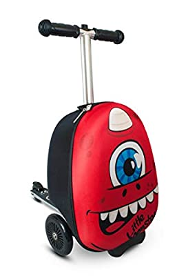 """Zinc Flyte Sid the Cyclops 15"""" Scooter Suitcase"""