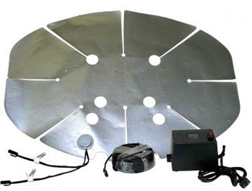"HotShot satellite dish heater - 28""x 20"""