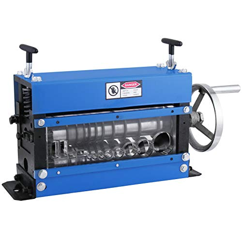 Copper Wire macchina di spogliatura del cavo Stripper Strumento automatico Scrap Metal Recycle Blu