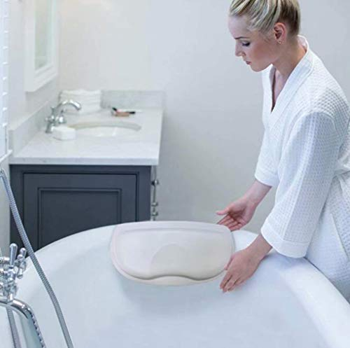 Bath Pillow Best Bath Pillows for Head and Neck Luxury Bath Cushion for Ergonomic Headrest & Back Support Waterproof Design Ideal for Elderly and Children