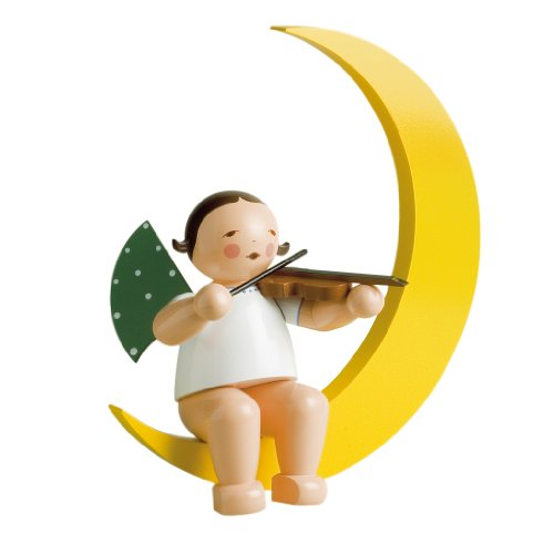 Wendt & Kühn 771/2 Engel mit Geige im Mond, groß