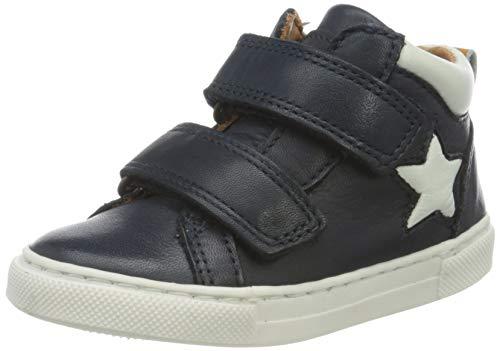 Bisgaard Jungen Jacob Hohe Sneaker, Blau (Navy 1402), 24 EU