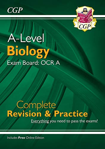 New A-Level Biology: OCR A Year 1 & 2 Complete Revision & Pr