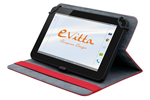 E-Vitta Stand 2P – Funda para Tablet de 7″, Color Rojo