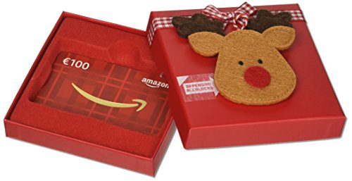 Buono Regalo Amazon.it - € 100 (Cofanetto renne di Natale)