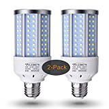 Auzer 30W (200W Equivalent), Daylight, E26 Standard Base, LED Corn Light Bulb | 2-Pack