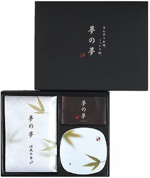 Nippon Kodo 梦之梦叶礼盒套装香陶瓷板