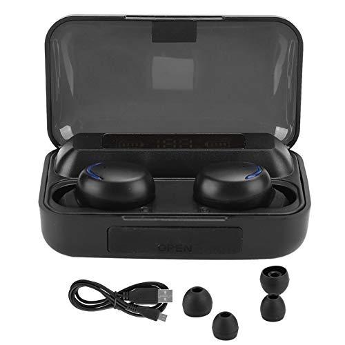 Oortelefoon F9-5 Zwart ABS LED Digitaal Display Ademhalingslicht Aanraken Controle Draadloze Hoofdtelefoon Thuiskantoor…