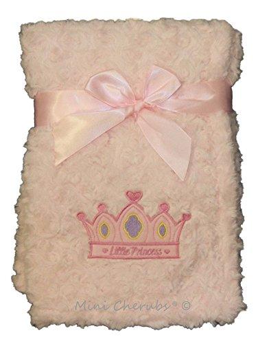 Bébé Fille Rose Little Princess Supersoft pour couverture de bébé Wrap bébé Cadeau