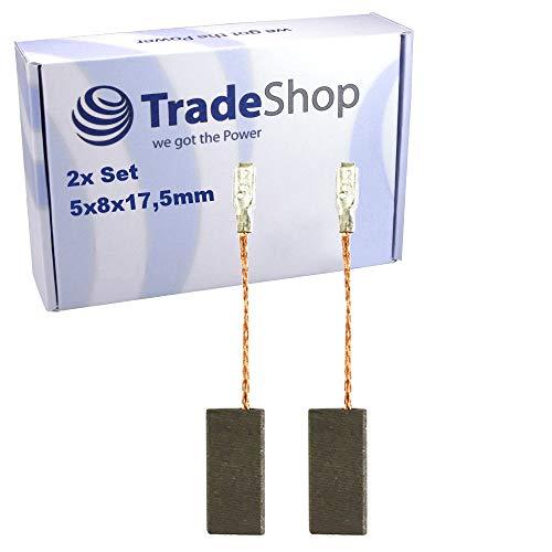2 cepillos de carbón para amoladora angular Bosch GWS 1400 GWS 14-125 C GWS 14-125 CE GWS 14-125 CI GWS 14-125 CIE