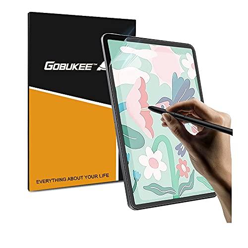 GOBUKEE [2 Stück] Papier Bildschirmschutzfolie für Samsung Galaxy Tab S7 FE / S7 Plus (12,4 Zoll) Panzerglas Matt Anti Reflex Schutzfolie Galaxy Tab S7 FE / S7 Plus