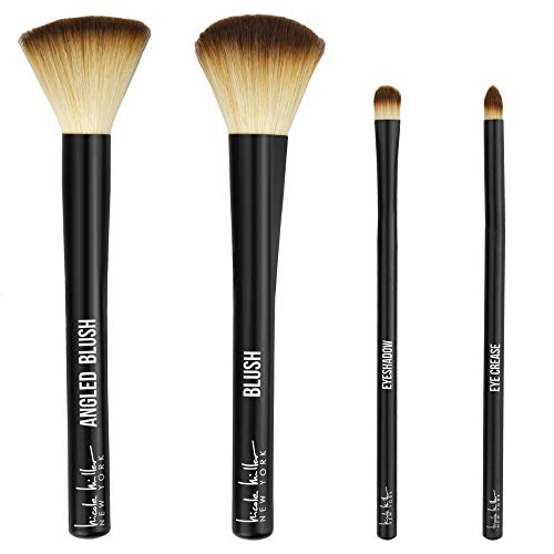 Make Them Stare 4 Pc Makeup Brush Set by Nicole Miller, Beautiful  Iowa
