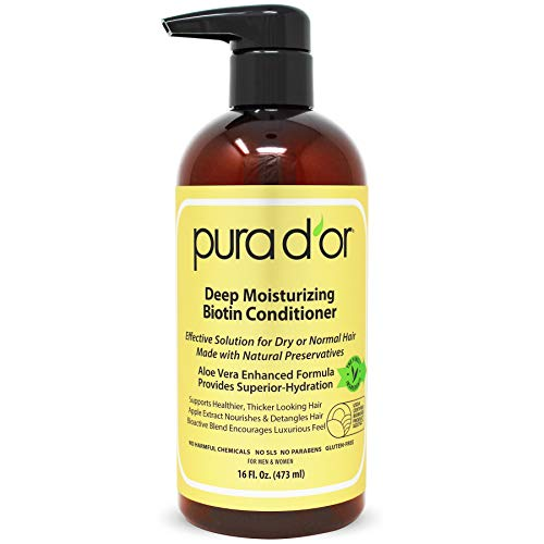 Pura D'or, Deep Moisturizing Conditioner, 16 fl oz (473 ml)