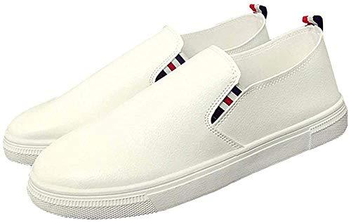 [エアバイ] メンズ トリコロール スリッポン スリップオン 靴 かっこいい カッコいい かわいい ぺったんこ ペッタンこ ぺたんこ 幅広い キャンバス かかと おしゃれ オシャレ カジュアル 上履き うわばき 軽量 室内 スニーカー デッキ シューズ シ