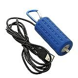 YOUANG Pecera de Acuario Mini Bomba de Oxígeno Portátil USB Productos de Ahorro de Energía Silenciosa para Accesorios de Peceras