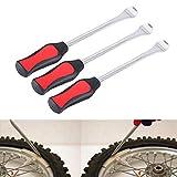 Strumento per cambio pneumatici, 3 pezzi Strumento per leva per pneumatici per bici da mot...