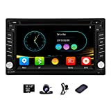 Weizhiya Multimedia GPS Navigation Radio for Nissan Frontier 350z 2003-2009 Versa 2009 Murano 2008 Pathfinder 2005-2010 6.2 Inch Universal Double 2 Din in Dash Stereo