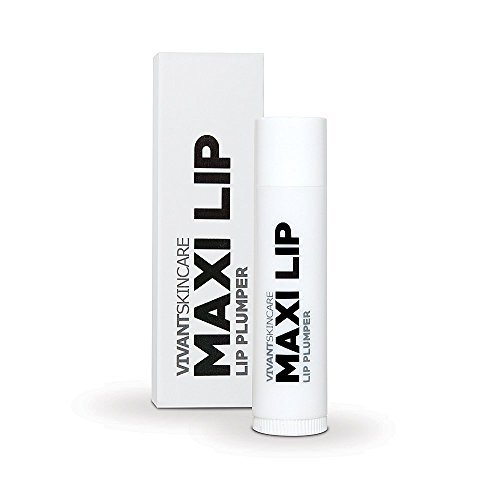 Vivant Skin Care Maxilip Lip Plumper - Peptide Collagen-Boosting Lip Treatment, Natural Peptides...