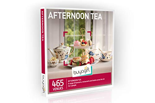 Buyagift Afternoon Tea Gift Experience Box - 465 traditional afternoon tea experiences across the UK