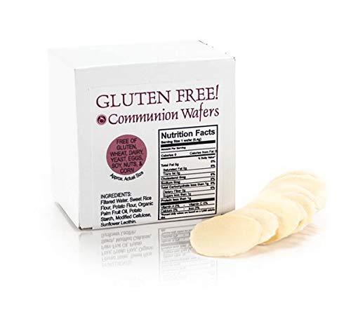 Swanson Christian Supply 126954 Commun Gluten Free Organic Kosher Wafers