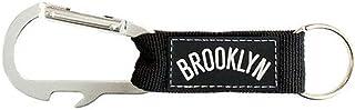 Pro Specialties Group Brooklyn nets Carabiner Wordmark