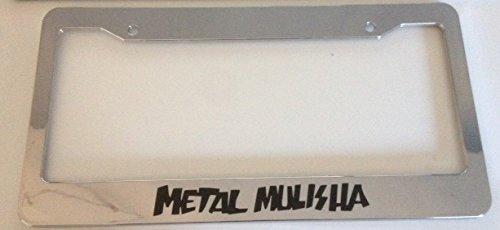 mma license plate frame - 6