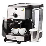 Espresso Machines 15 Bar Fast Heating Coffee Machine with Milk Frother Wand for Espresso,...