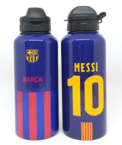 FC Barcelona Aluminium Trinkflasche Messi