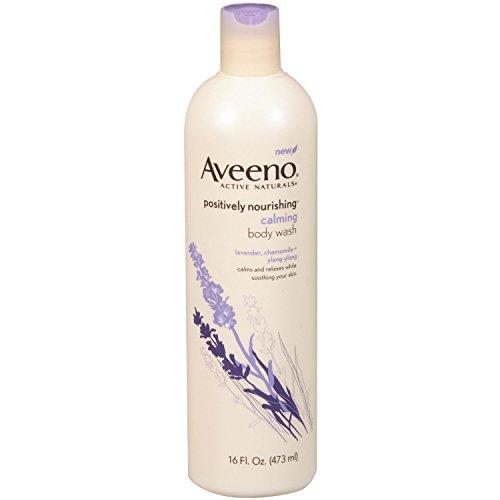 Aveeno Active Naturals Body Wash, Calming Lavender, Chamomile + Ylang Ylang 16 fl oz (473 ml) by Aveeno