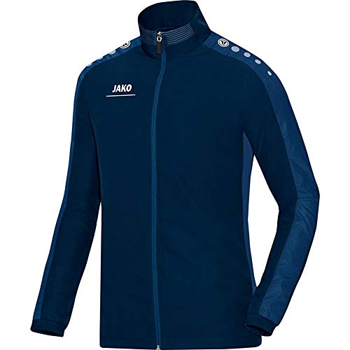 JAKO Herren Präsentationsjacke Striker, Marine/Nightblue, L
