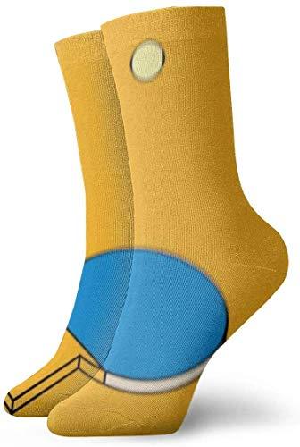 not applicable Mens Dress Socken Pack-Ping-Pong Paddel Schlagen Lustige Polyester Crew Socken