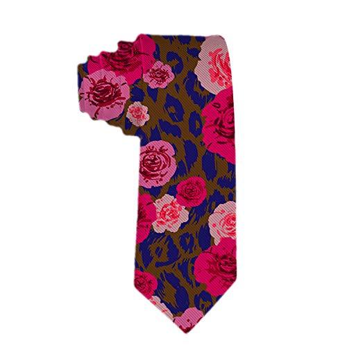 Corbata de seda con corbata tejida clásica para hombres Corbatas con