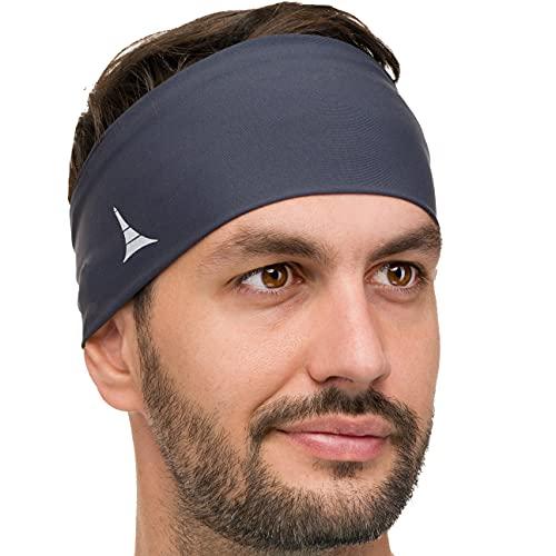 French Fitness Revolution Stirnband Damen und Herren - Schweißband für Sport, Workout, Laufen, Radfahren und Yoga - Haarband Damen und Herren. Feuchtigkeitsabführend und Hoch Dehnbar