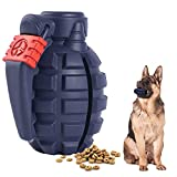 Dog Toys for Aggressive Chewers Large Breed, Lifetime Replacement, Indestructible Interactive Treat Toys for Large Medium Small Dogs, Food Grade Tough Dog Toys, Fun to Chew, Chase and Fetch (Blue)