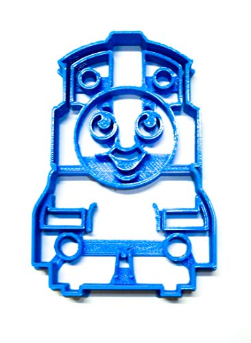 THOMAS THE TANK ENGINE STEAM LOCOMOTIVE KIDS BOOK TV SERIES CHARACTER SPECIAL OCCASION COOKIE CUTTER BAKING TOOL 3D PRINTED MADE IN USA PR2090