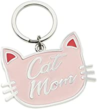 Melix Home Pink Cat Keychain Cat Mom Gifts for Cat Lovers Gifts for Women Jewelry (keychain)
