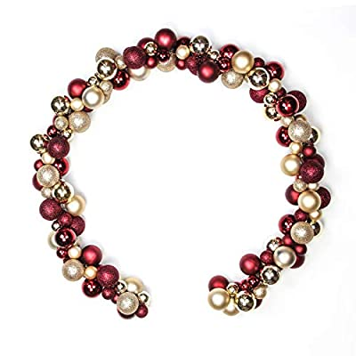 Costyleen Christmas Ball Ornaments Home Party Decors Ball Wreath Garlands Xmas Tree Decoration