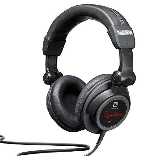 ULTRASONE Signature PRO Kopfhörer in Schwarz | Mit Ohr-Polstern aus Leder und Aufbewahrungsbox