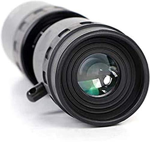 Bierglaks Monoculares monoculares para Senderismo Telescopio de Alta Potencia 10x40 HD Telescopio de visualizacin para Uso en Exteriores (Color: Negro) (Color: Negro)
