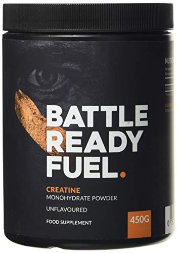 Battle Ready Fuel Creatine Monohydrate Powder Nutritional Supplement (450g) — Unflavored