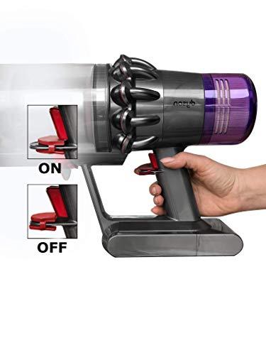 Zubehör Griffhalterung Halterung Fixierung - für Dyson V6 V7 V8 Hand Staubsauger/Organizer und Dockingstation - Best in Design - sehr schnelle und einfache Montage