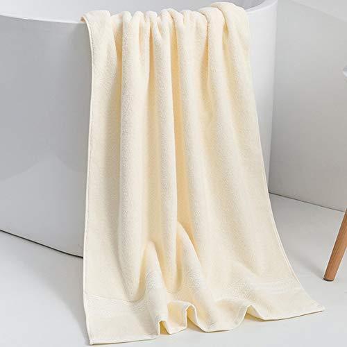 ZYCH Baño de Toallas Toallas de Peluquería,Toallas de Salón,Toallas de Mano,70x140 cm para Bebés,Niños Juegos de Toallas de/Cara/Mano/Baño,Paños de Limpieza/Cocina Turbante (Color : Beige)
