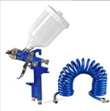 Superking Hvlp spray painting gun with nozzle 1.4mm & 600 ml cup, PU
