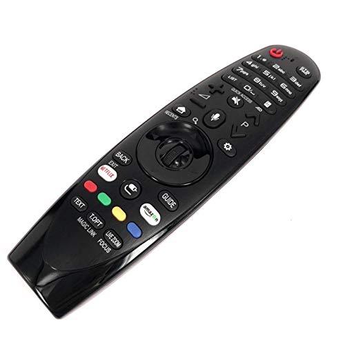 Shy-RC 1 stück Ersatzfernseher Fernbedienung AN-MR650A Black 433 MHz Fernbedienung für LG Magic 2017 Fernsehen MAYITR