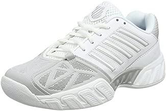 K-Swiss Women's Tennis Shoes, White (White/Silver 153-M), 7.5 UK