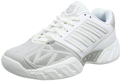K-Swiss Performance Damen KS TFW Bigshot Light 3 CRPT-WHT M Tennisschuhe, White/Silver, 41 EU